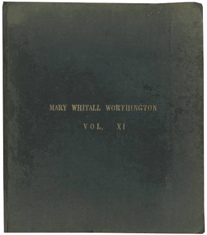 Mary Whitall Worthington diary, volume 11