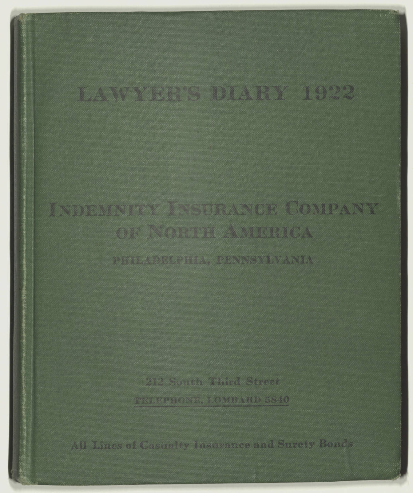 Dorothy Burr Thompson diaries and papers, Box: 2, Volume: 15