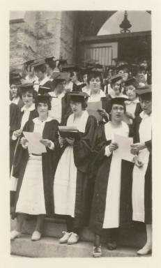 Graduation, class of 1922