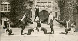 Gymnastics team, 1927