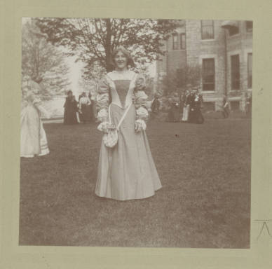 Frances Ream on May Day 1900