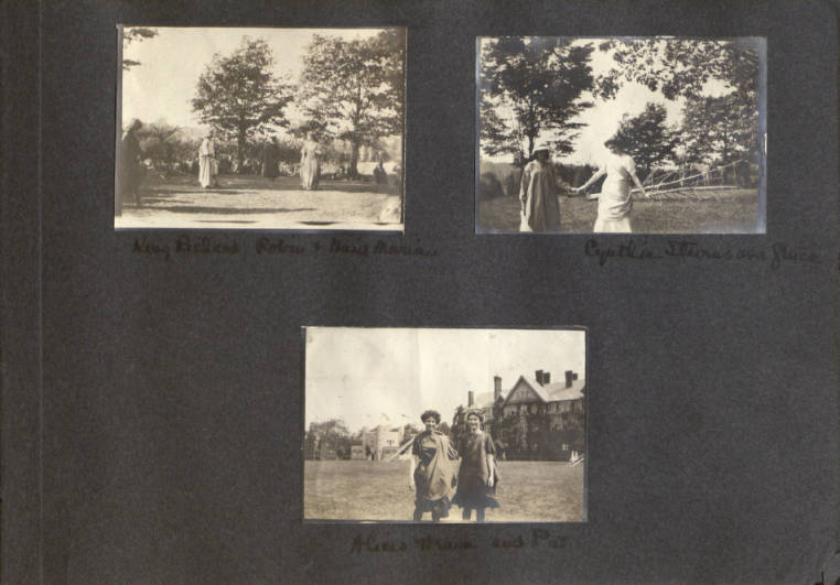 Photo Album of Elizabeth Yarnall Maguire, class of 1913