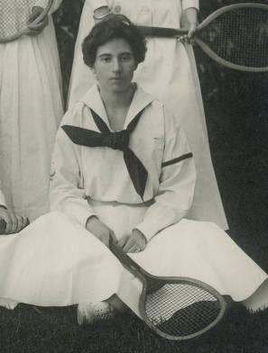 Tennis team, 1909