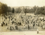 General view of Merion green on Big May Day 1932