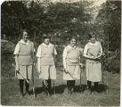 Archery team, 1928